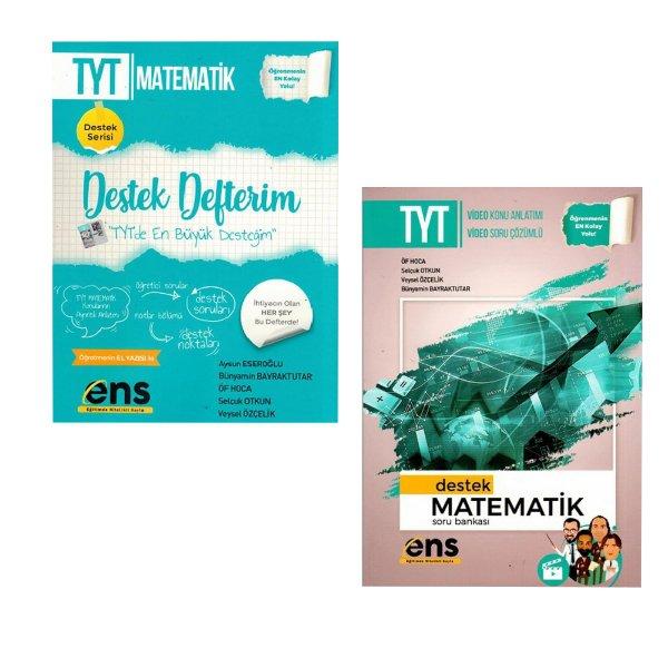 ENS Yayınları TYT Matematik Destek Seti Bir Defter Bir Soru Bankası Kitabı