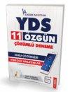 YDS 11 Özgün Çözümlü Deneme Soru Çözümleri Videolu Anlatımlar Pelikan Yayınları