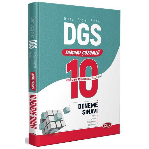 2020 DGS 10 Deneme Sınavı Çözümlü Fasikül Data Yayınları