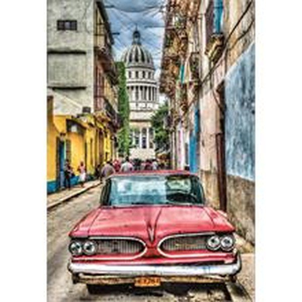 Educa Puzzle Vintage Car in Old Havana 1000 Parça 16754