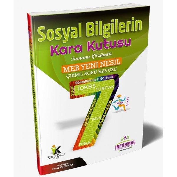 7.Sınıf sosyal bilgilerin Kara Kutusu Tamamı Çözümlü Soru Bankası İnformal Yayınları