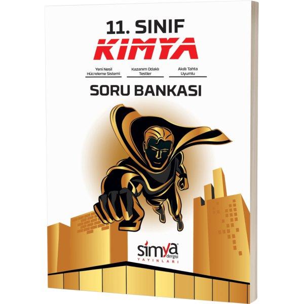 11.Sınıf Kimya Soru Bankası Kitabı Simya Yayınları