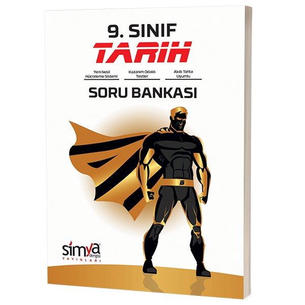 9. Sınıf Tarih Soru Bankası Kitabı Simya Yayınları