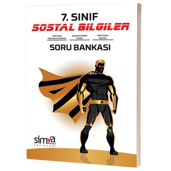 7. Sınıf Sosyal Bilgiler Soru Bankası Kitabı Simya Yayınları