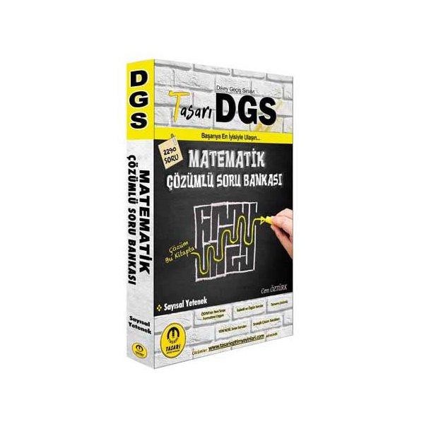 2021 DGS Matematik Çözümlü Soru Bankası Tasarı Eğitim Yayınları