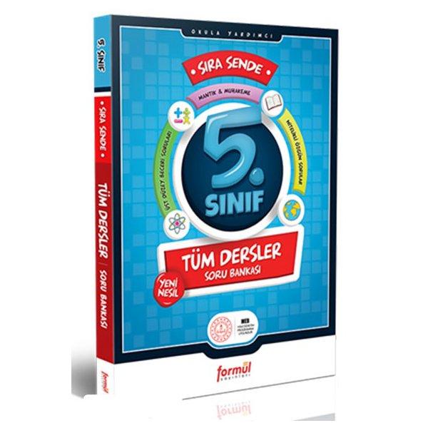 5. Sınıf Sıra Sende Tüm Dersler Soru Bankası Formül Yayınları