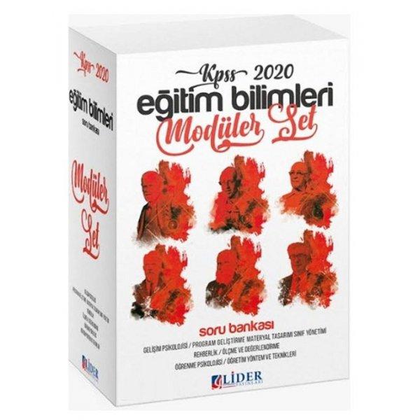 2020 KPSS Eğitim Bilimleri Soru Bankası Modüler Set Lider Yayınları