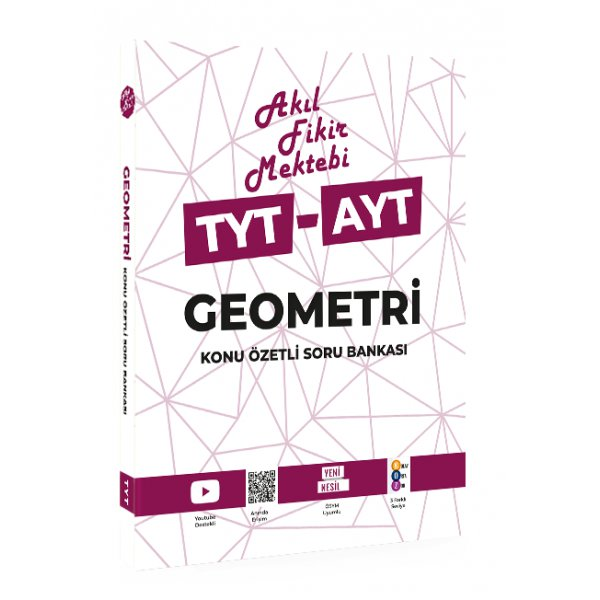 TYT AYT Geometri Konu Özetli Soru Bankası Akıl Fikir Mektebi