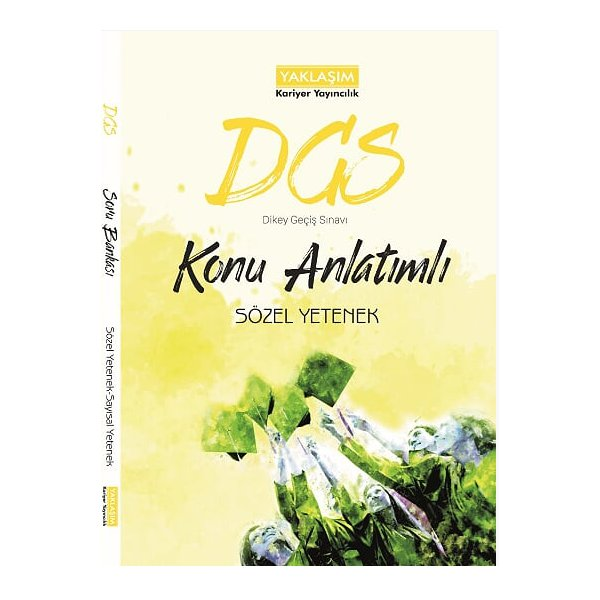 DGS Sözel Yetenek Konu Anlatımlı Yaklaşım Kariyer Yayınları