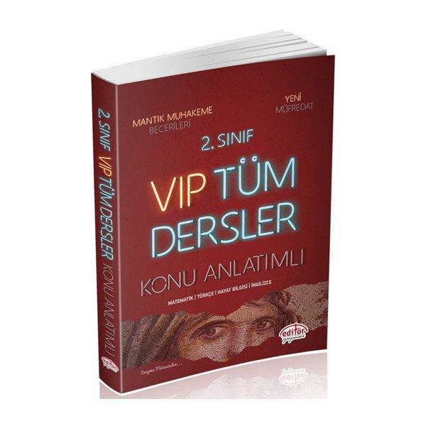 Süper Fiyat 2. Sınıf VIP Tüm Dersler Konu Anlatımlı Editör Yayınları