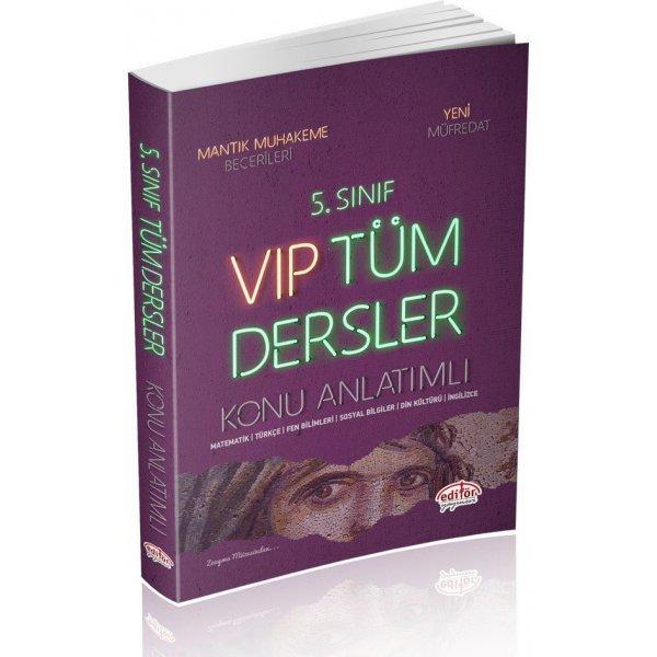 Süper Fiyat 5. Sınıf VIP Tüm Dersler Konu Anlatımı Editör Yayınevi