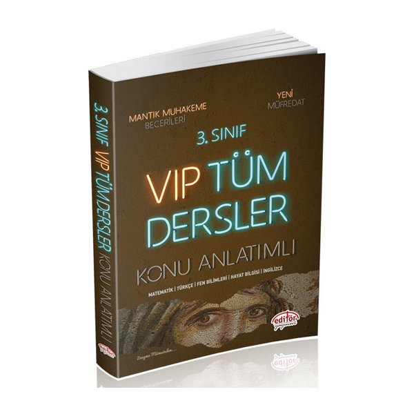 Süper Fiyat 3. Sınıf VIP Tüm Dersler Konu Anlatımlı Editör Yayınları