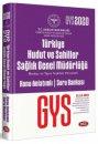 2020 GYS Türkiye Hudut ve Sahiller Sağlık Genel Müdürlüğü Merkez Taşra Teşkilatı Konu Anlatımlı Soru Bankası Data Yayınları