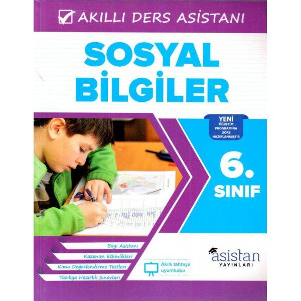 6. Sınıf Sosyal Bilgiler Akıllı Ders Asistanı Asistan Yayınları