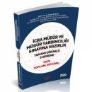 2020 İcra Müdür ve Müdür Yardımcılığı Sınavlarına Hazırlık 5 Deneme Savaş Yayınları