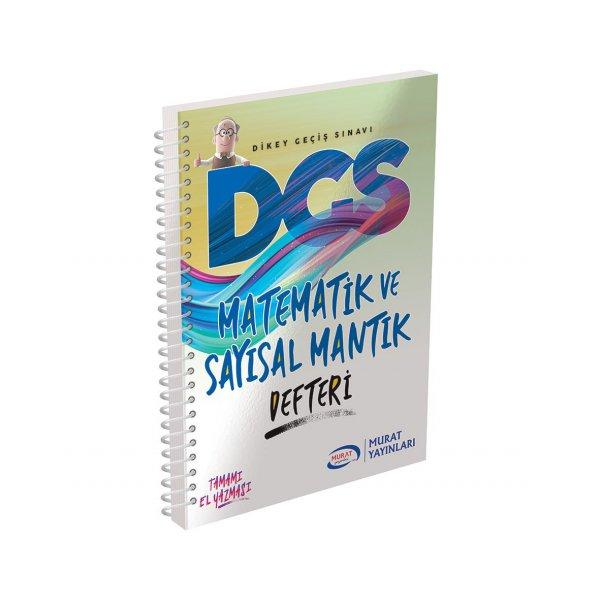 2020 DGS Matematik ve Sayısal Mantık Defteri Murat Yayınları
