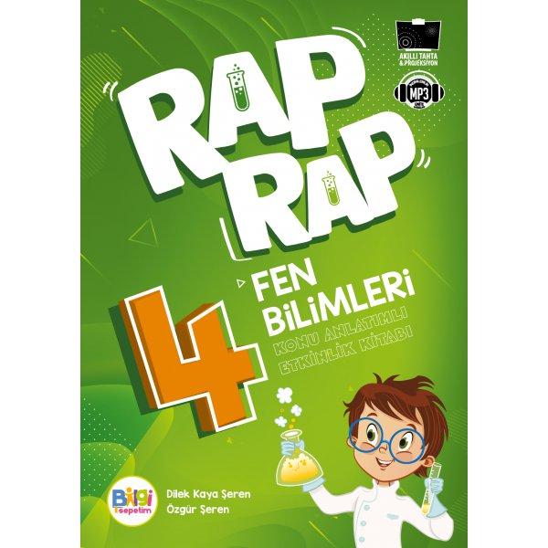 Rap Rap Fen Bilimleri 4 Konu Anlatımlı Etkinlik Kitabı Bilgi Sepetim Yayınları