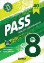 PASS 8. Sınıf İngilizce LGS Deneme Sınavı Yeni Nesil Sorular 40 adet Team Elt Publishing Yayınları