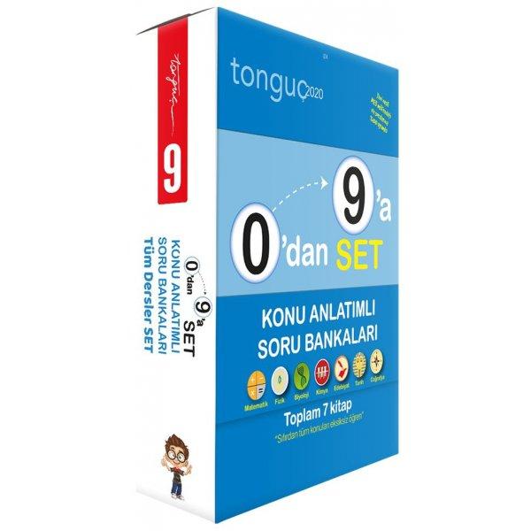 0dan 9a Tüm Dersler Konu Anlatımlı Soru Bankası Seti Tonguç Akademi