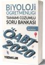 2020 ÖABT Biyoloji Öğretmenliği Tamamı Çözümlü Soru Bankası Yediiklim Yayınları