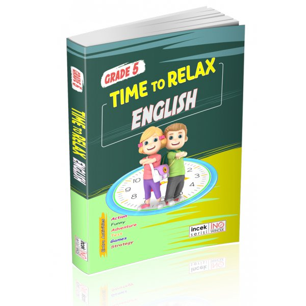 5. Sınıf Time To Relax English İnovasyon Yayıncılık