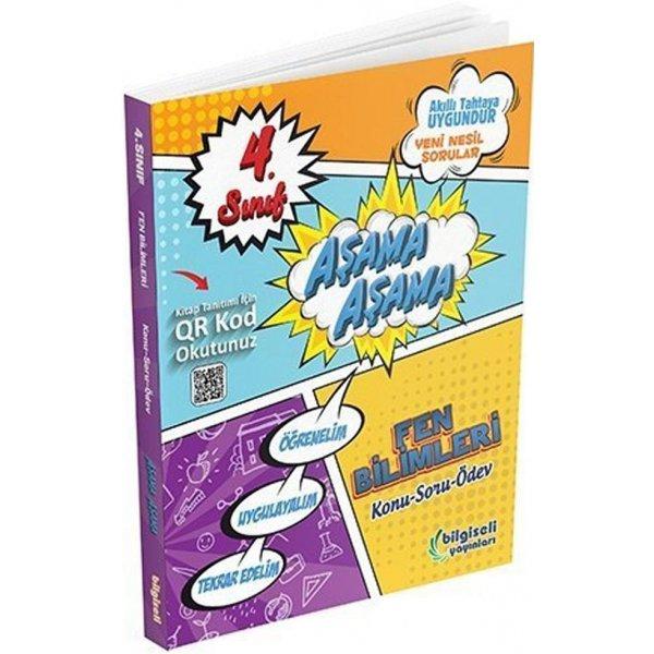 4. Sınıf Aşama Aşama Fen Bilimleri Bilgiseli Yayınları