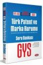 2021 GYS Türk Patent ve Marka Kurumu Soru Bankası Data Yayınları