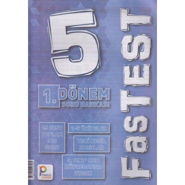 5. Sınıf 1. Dönem FasTest Soru Bankası Phaselis Education
