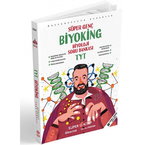 TYT Biyoloji Süper Genç Biyoking Soru Bankası Süper Kitap