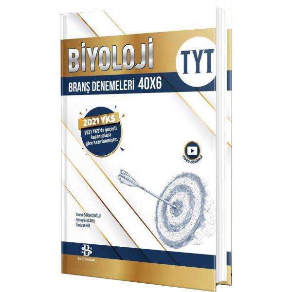Bilgi Sarmal Tyt Biyoloji 40 X 6 Denemeleri 2021 Bilgi Sarmal Yayınları