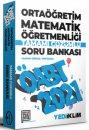 2021 ÖABT Ortaöğretim Matematik Öğretmenliği Tamamı Çözümlü Soru Bankası Yediiklim Yayınları
