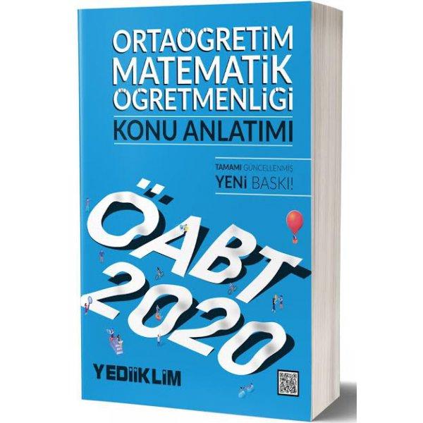 2020 ÖABT Ortaöğretim Matematik Öğretmenliği Konu Anlatımı Yediiklim Yayınları