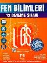 8. sınıf LGS Fen Bilimleri 6 Sarmal 6 genel 12 Deneme Sınavı Mozaik Yayınları