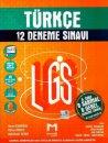 8. sınıf LGS Türkçe  6 Sarmal 6 genel 12 Deneme Sınavı Mozaik Yayınları