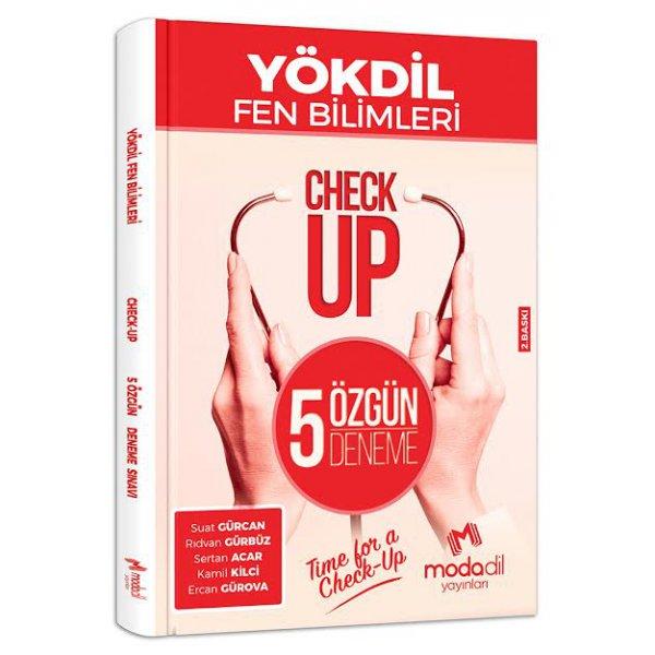 YÖKDİL Fen Bilimleri Check-Up 5 Özgün Deneme Sınavı Modadil Yayınları