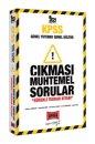 2021 KPSS Genel Yetenek Genel Kültür Çıkması Muhtemel Sorular Yargı Yayınları