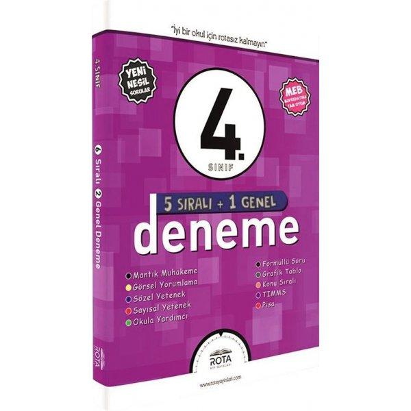 4. Sınıf 5 Sıralı 1 Genel Deneme Rota Yayınları