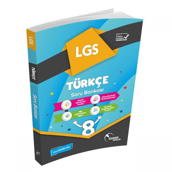 8. Sınıf LGS Yeni Nesil Türkçe Soru Bankası Doktrin Yayınları