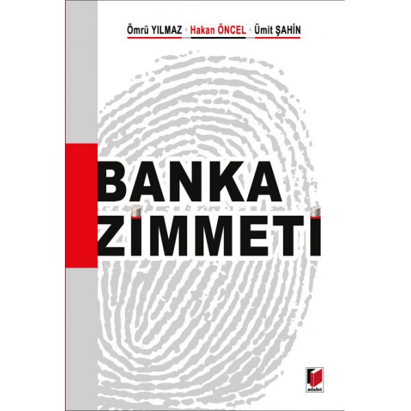 Banka Zimmeti  Adalet Yayınevi