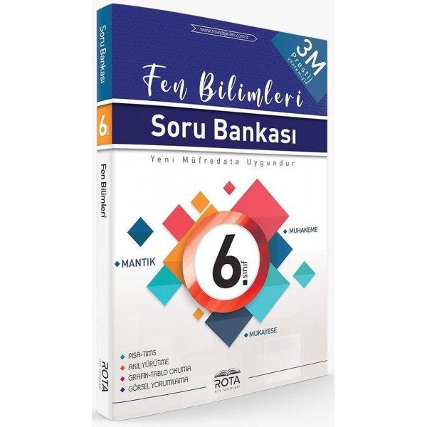 6. Sınıf Fen Bilimleri 3M Prestij Soru Bankası Rota Yayınları