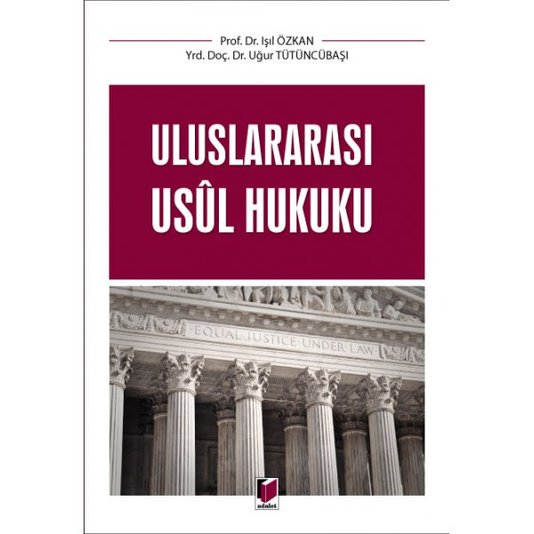 Uluslararası Usul Hukuku Adalet Yayınevi