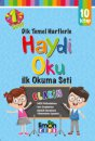 1. Sınıflar İçin Dik Temel Harflerle Haydi Oku İlk Okuma Seti 10 Kitap Limon Kids Yayınları