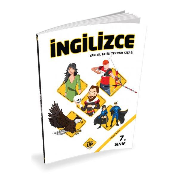 7. Sınıf Yarıyıl Tatil Kitabı Speed Up Publishıng