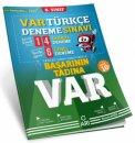 8. Sınıf LGS Türkçe VAR Deneme Sınavı Arı Yayınları