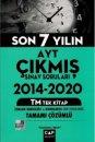 Çap Yayınları AYT  TM Son 7 Yılın Çıkmış Sorular