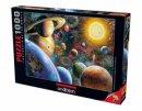 Gezegenler Planets İn Space 1000 Parça Puzzle - Yapboz