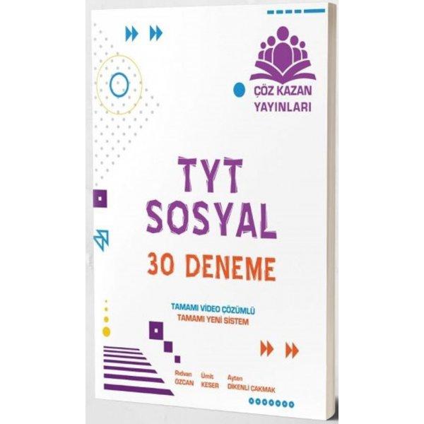 TYT Sosyal 30 Deneme Çöz Kazan Yayınları