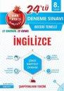 8. Sınıf LGS İngilizce 24 lü Deneme Sınavı Nartest Yayınları