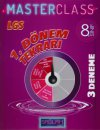 8. Sınıf LGS 1. Dönem Tekrarı Sağlam Master Class 3 lü Deneme Molekül Yayınları