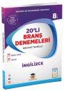 8.Sınıf LGS İngilizce 20' li Branş Denemeleri Zeka Küpü Yayınları